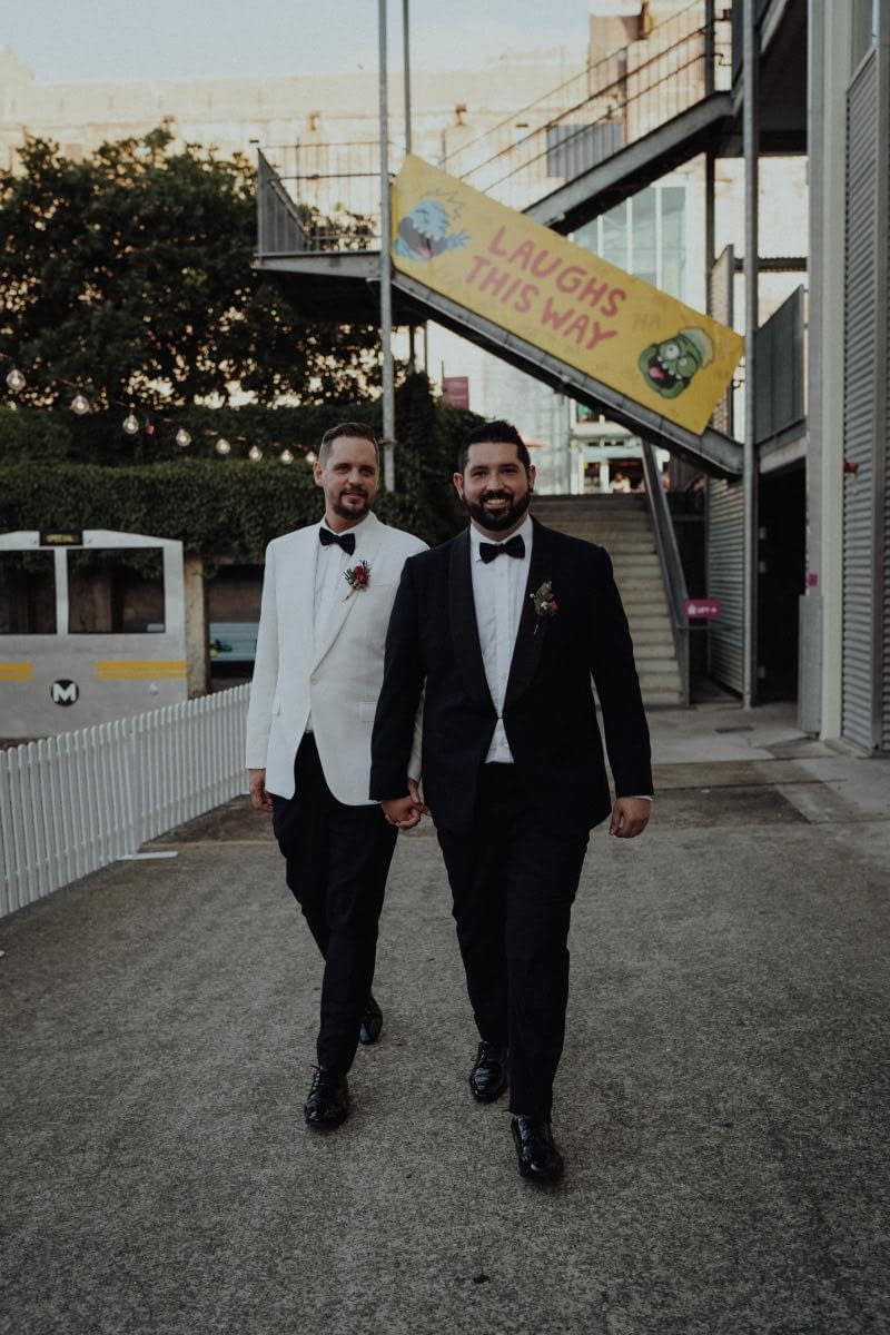 Daniel-and-Wesley-Real-Wedding-Story-Electric-Avenue