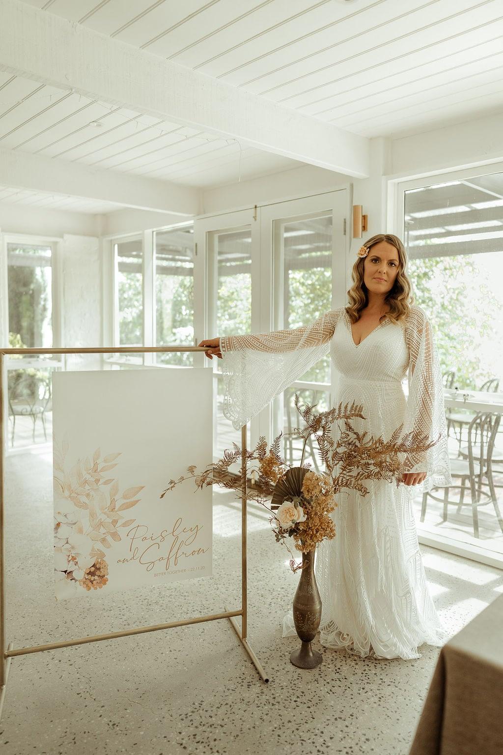 boho styled wedding at Butlers Lane Vineyard