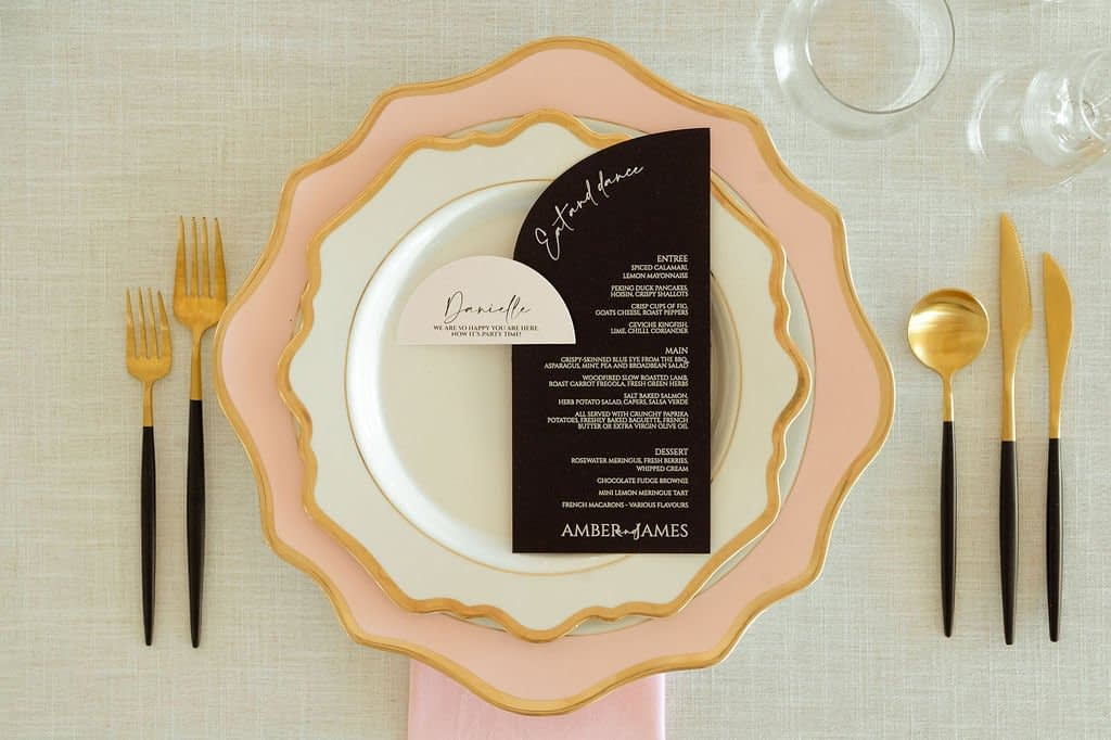 Modern Classic Styled Wedding Shoot Country Victoria