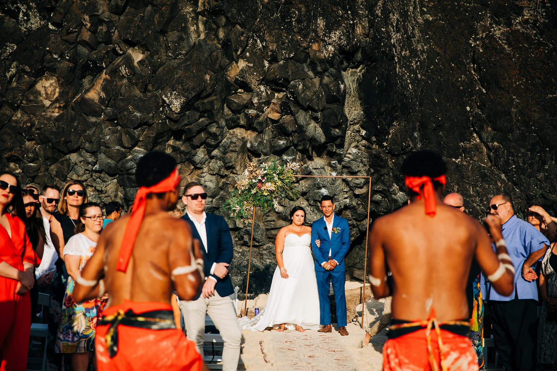 real+wedding+dreamtime+beach+vja.photography+indigenous+ceremony