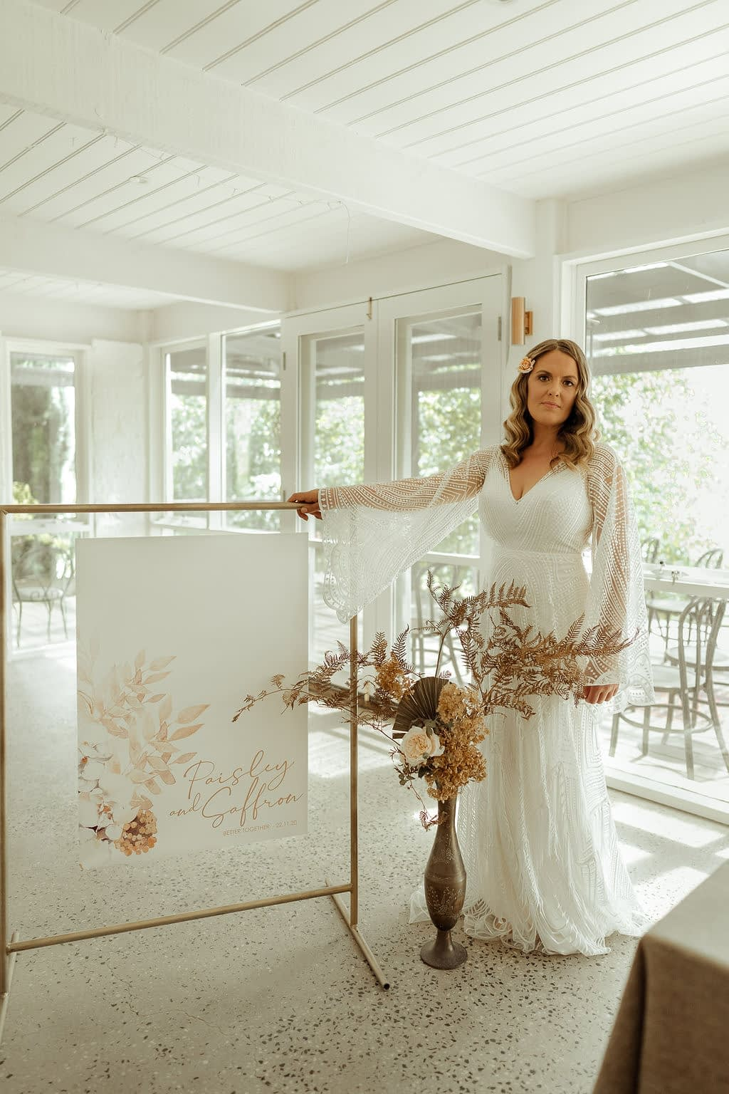 boho styled wedding at Butlers Lane Vineyard